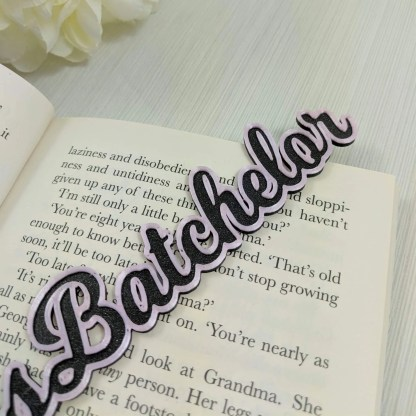 Personalised photo prop text