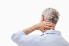 Chicago Social Security disability lawyer - Man With Neck Pain