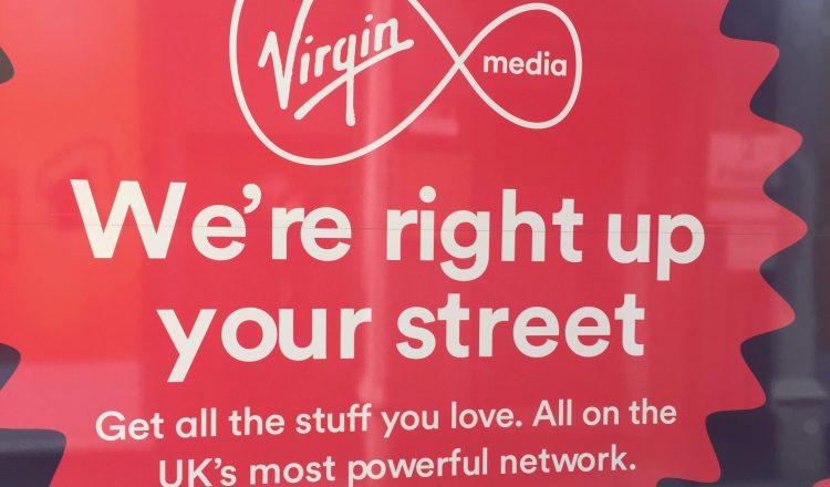 Virgin Media Shop front