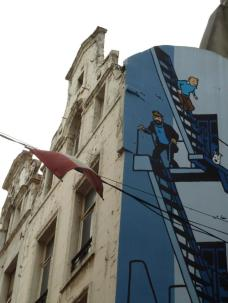 Tintin Brussels