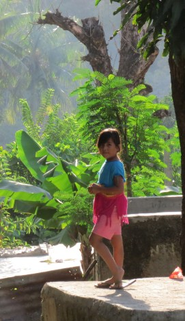 A girl in Dili, Timor-Leste