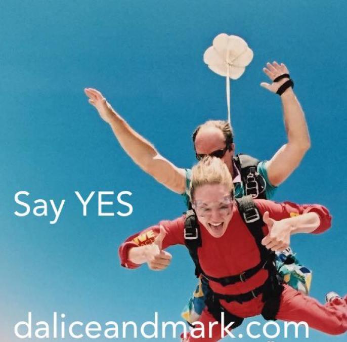 Dalice sky diving
