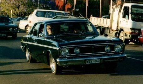 Ben Watts - car