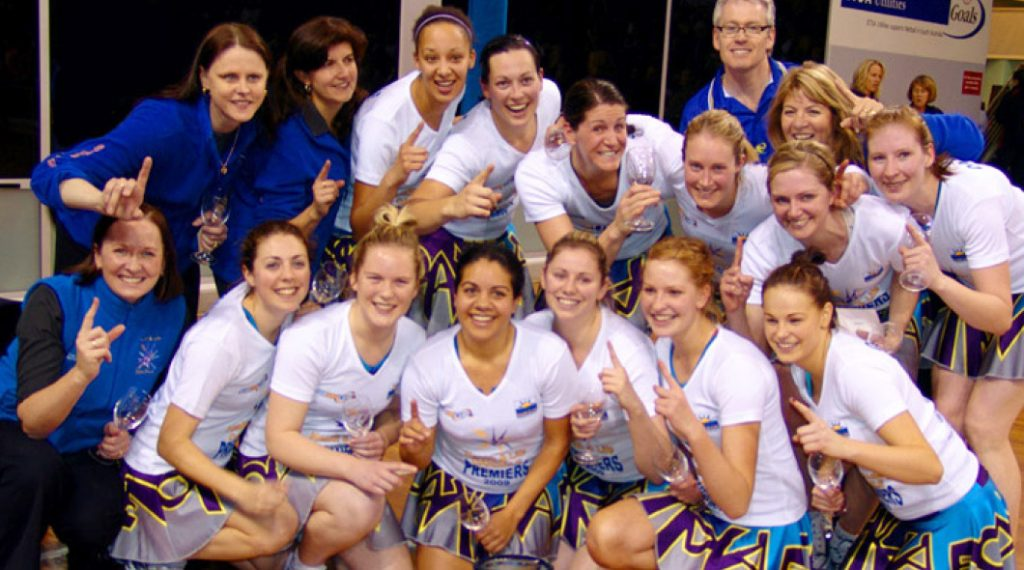 Oakdale State League Netball Premiership Captain 2009
