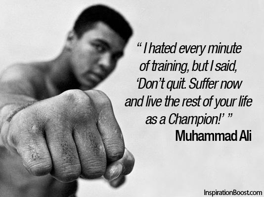 Muhammad-Ali - hate training