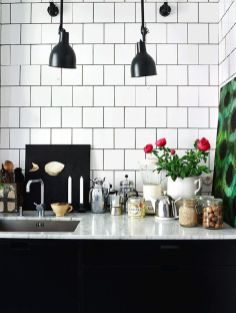 Desain dapur minimalis wastafle warna putih wallpaper dapur