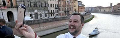 Il comizio di Salvini a Pisa di Chiara Portesine e Alessandro Brizzi