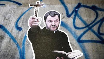 Salvini, il ministro che giurò sul Vangelo  di Rinaldo Gianola