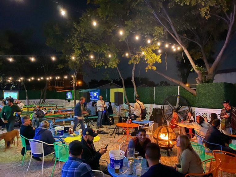 toller patio dallas nightlife