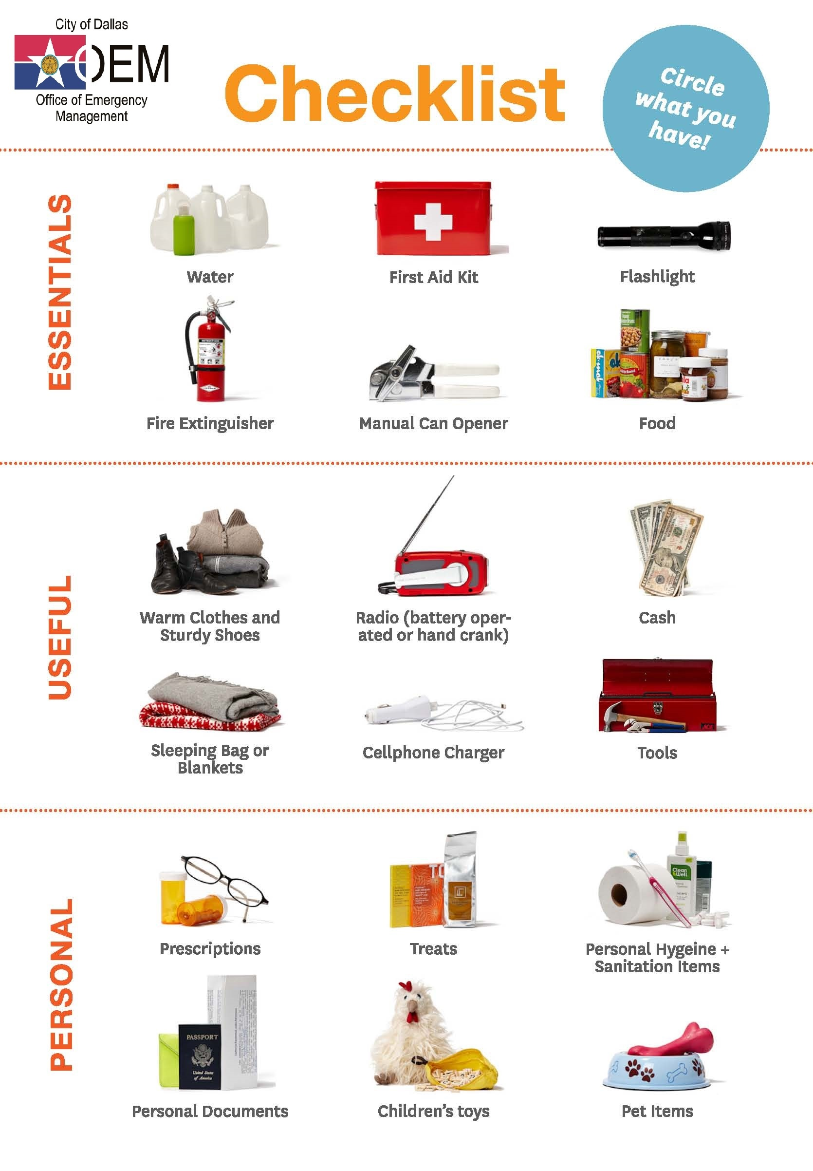 Do You Have An Emergency Disaster Kit