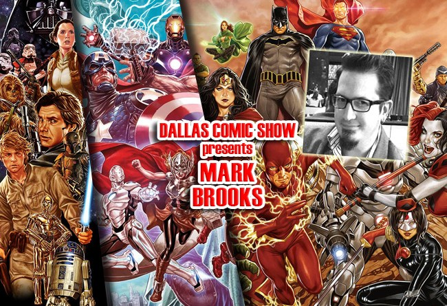 STAR WARS: HAN SOLO and ANT-MAN artist Mark Brooks comes to DCS Feb 11-12!