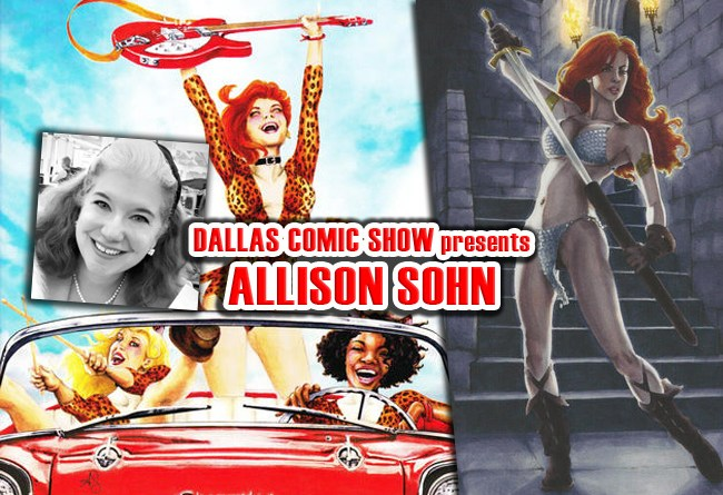 BETTY & VERONICA and JOSIE cover artist Allison Sohn comes to DCS Feb 11-12