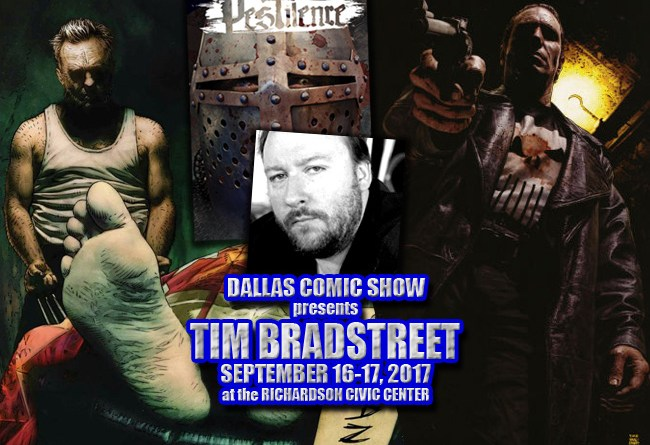 HELLBLAZER, PUNISHER and PESTILENCE cover artist Tim Bradstreet comes to DCS Sept 16-17