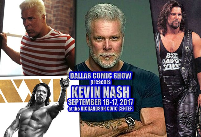 MAGIC MIKE & THE PUNISHER star, and WWE Hall of Fame's Kevin Nash comes to DCS Sept 16-17!
