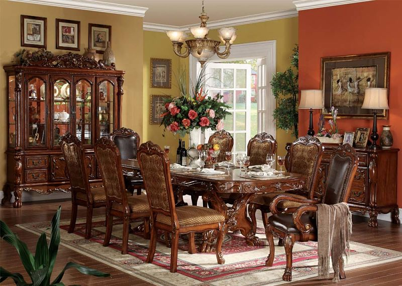 Dallas Designer Furniture Dresden Formal Dining Room Set