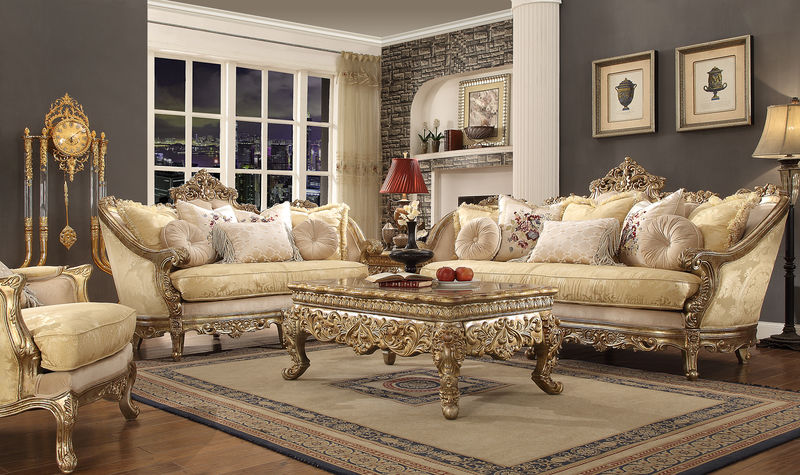 Dallas Designer Furniture Kingsbury Formal Living Room Set