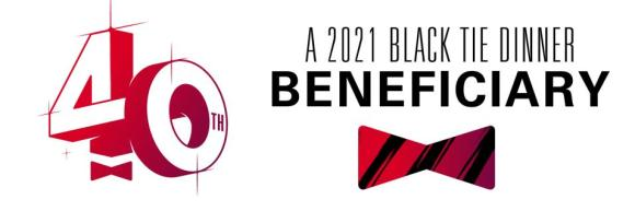 Black Tie Dinner Beneficiary