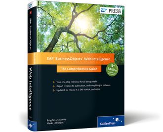 SAP Press Web Intelligence 3rd Edition