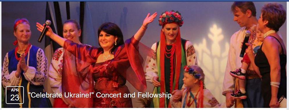 Celebrate Ukraine! Concert and Fellowship