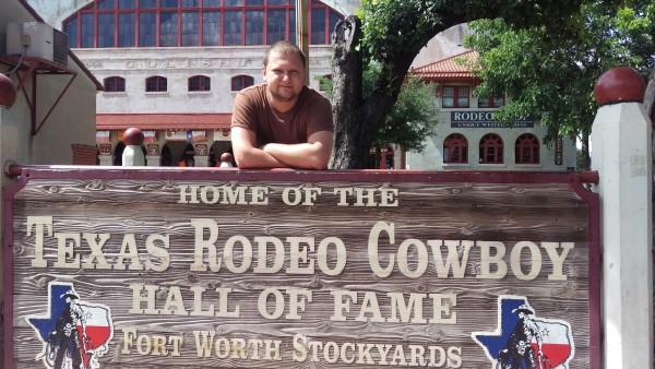 2016-06-04 Vladislav Kuznetsov in Dallas. The Fort Worth Stockyards. Photo Serge Taran, The Dallas Telegraph (250)_600