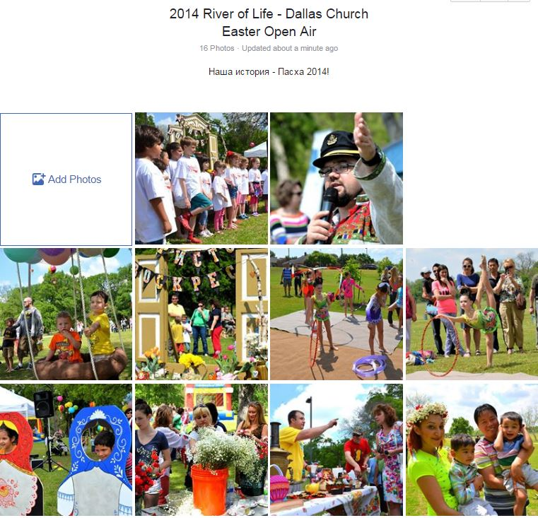 River of Life - Dallas Church Easter Open Air