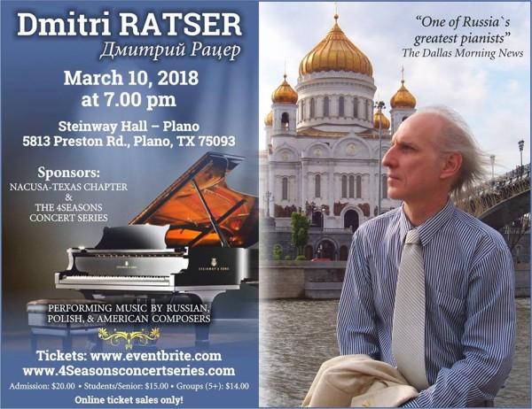 Dmitri Ratser in Dallas ⋆ Russian Dallas - Руский Даллас