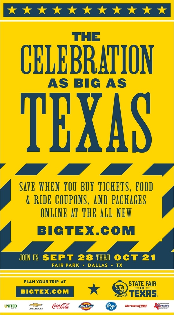 State Fair of Texas 2018 dates, food, tickets, hours, discounts, coupons, Promo codes, Season Pass