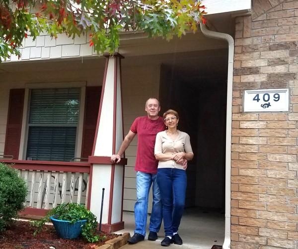 Музыканты и профессора Диана и Валерий через 2,5 года переезда в Америку купили свой дом