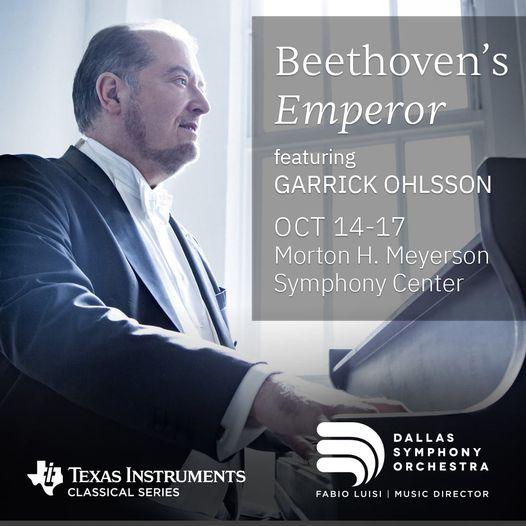 Симфонический оркестр Далласа (Dallas Symphony Orchestra) представляет концерт «Император Бетховена»