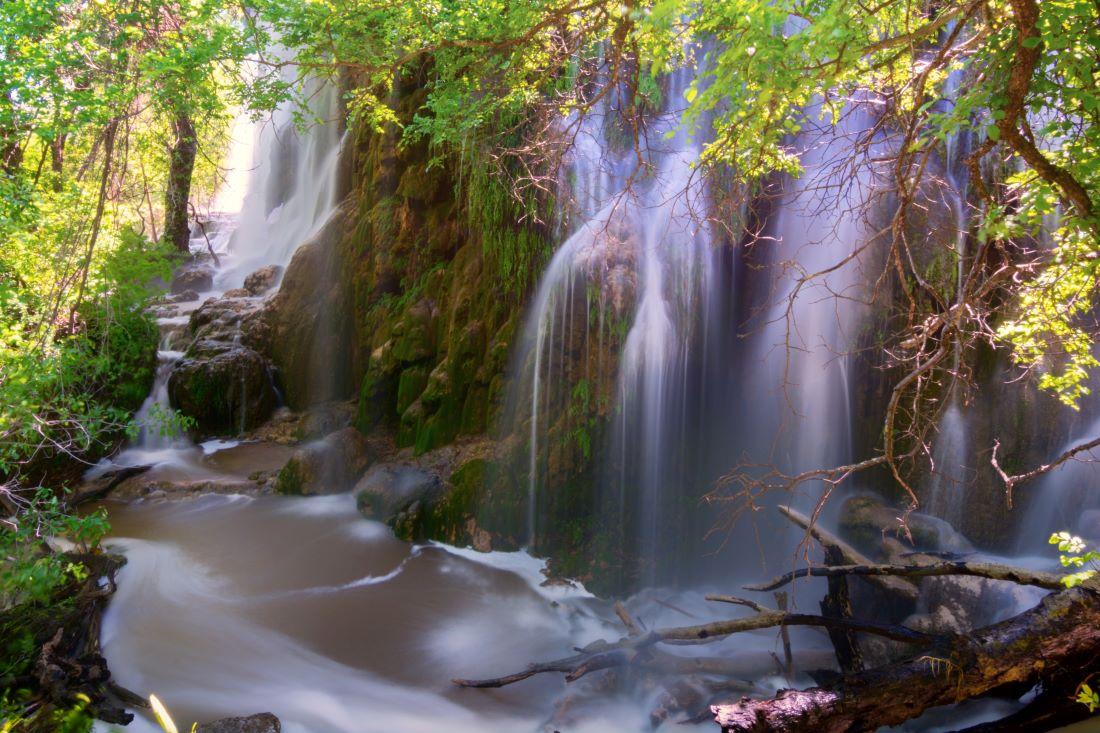 Gorman Falls Colorado Bend State Park Texas