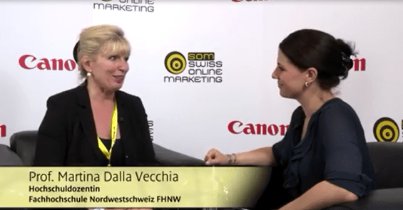 Video-Interview an der SOM15 mit Prof. Martina Dalla Vecchia am von Stand Canon