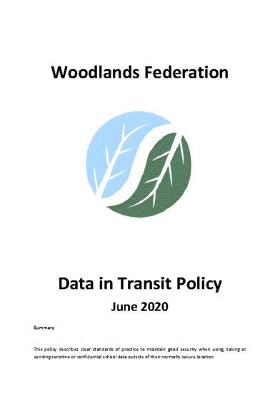 Data in Transit Policy
