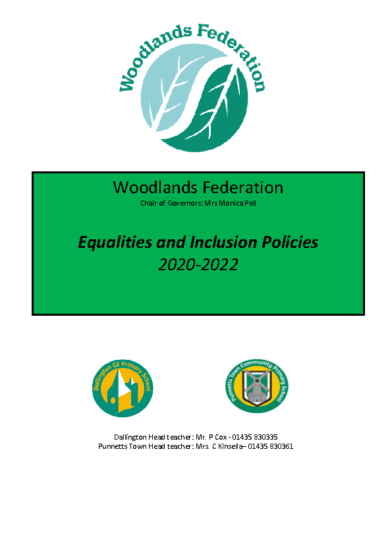Equalities & Inclusion Policies