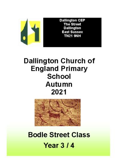 Bodle Street Class Autumn Brochure September 2021