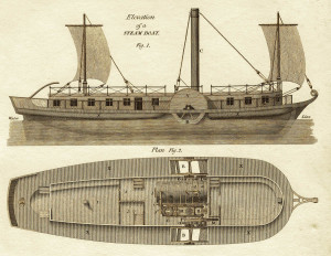 Steamboat Engraving389
