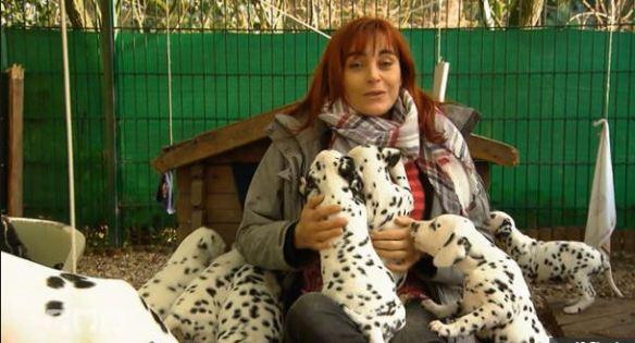 Diana Eichhorn ist unter die Dalmatiner gegangen