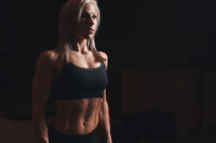 a female bodybuilder
