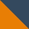 Orange / Marinblå