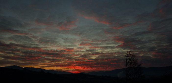 ráno nad Breznom