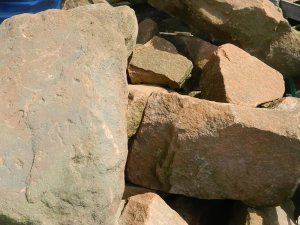 Sandstone Rockery