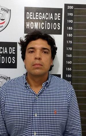 Lucas Porto, preso como principal suspeito