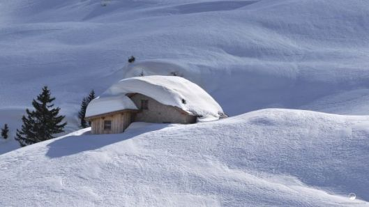 Winter wonderland by Alberto Bregani