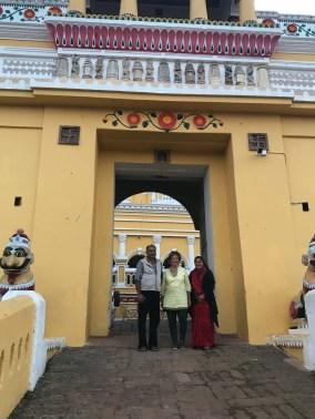 Dhenkanal con i principi Meenal Kumari e Amarujioti