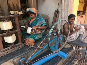 Sarees are woven in Nuapatna
