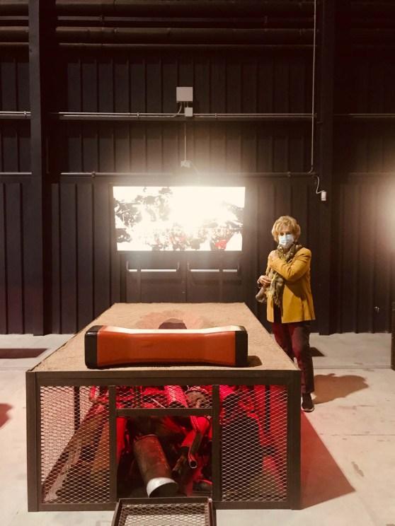 Chen Zhen Sleeping Tao.Luce rossa riscalda il letto, ricordando il fuoco