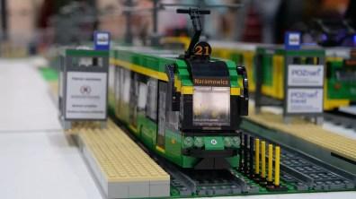 Poznański tramwaj z klocków LEGO