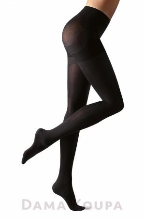 Μαύρο opaque καλσόν