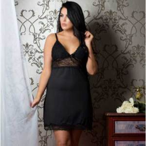 black-dress-plusize