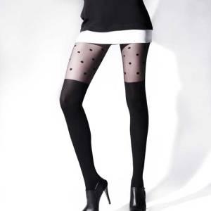 Καλτσόν με σχέδιο κάλτσα
