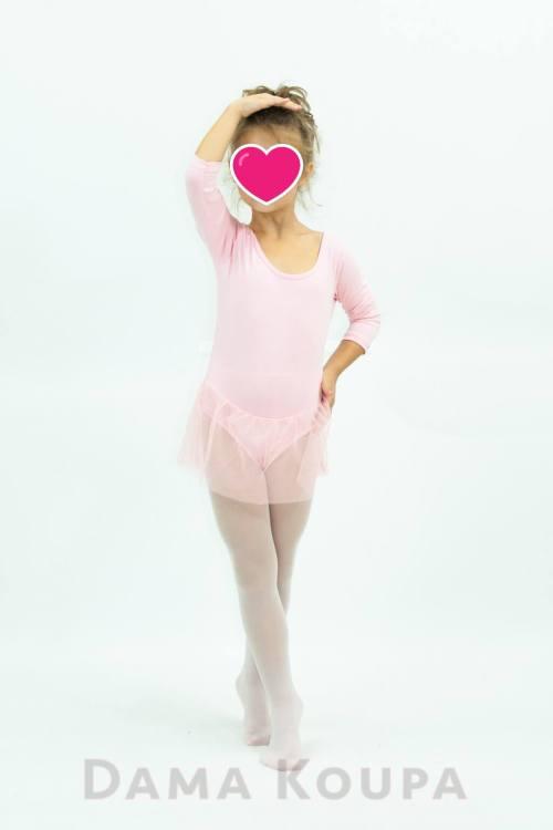 Κορμάκι με φούστα για μπαλέτο χορό